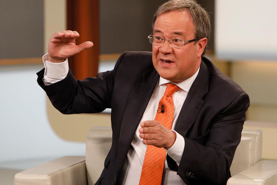 NRW-Ministerpräsident Armin Laschet (CDU) warnte im ZDF vor der Ernst der Lage, die nach der Wahl herrscht.