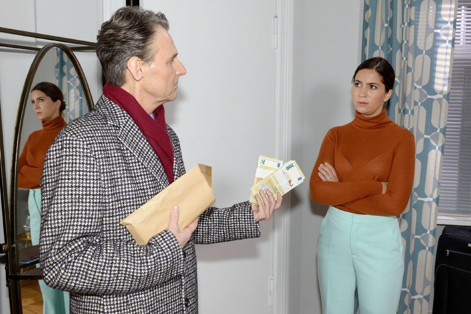Jo Gerner macht Laura ein unmoralisches Angebot.