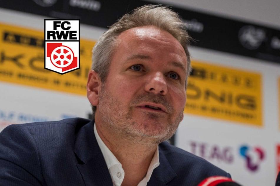 RWE-Präsident Frank Nowag.