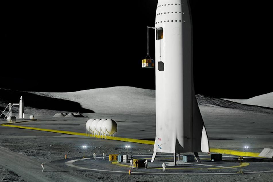 Ganz irdisch geht es momentan beim Raumfahrtunternehmen SpaceX zu...