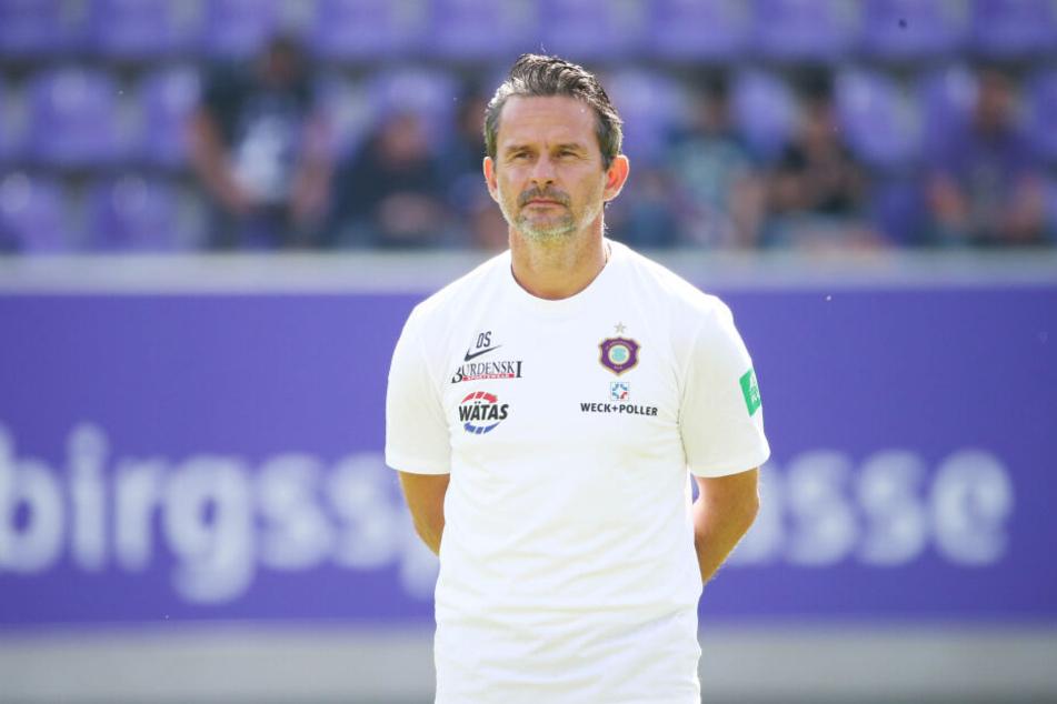 FC Erzgebirge-Trainer Dirk Schuster.