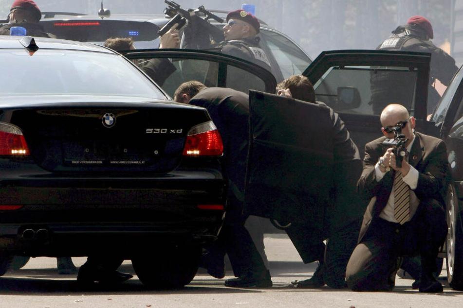 Die österreichische Spezialeinheit Cobra nahm den Verdächtigen fest. (Symbolbild)