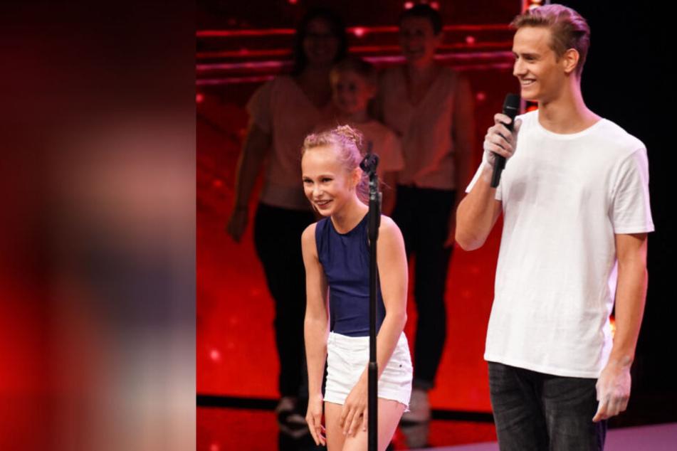 Helene und Jonas aus Erfurt begeistern beim Supertalent