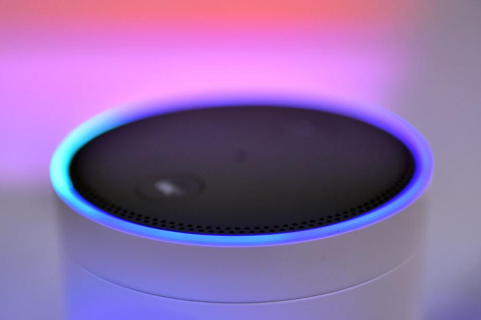 Der Lautsprecher des Sprachassistenten Alexa von Amazon: Hiermit kann nicht nur die Musikauswahl getroffen werden.