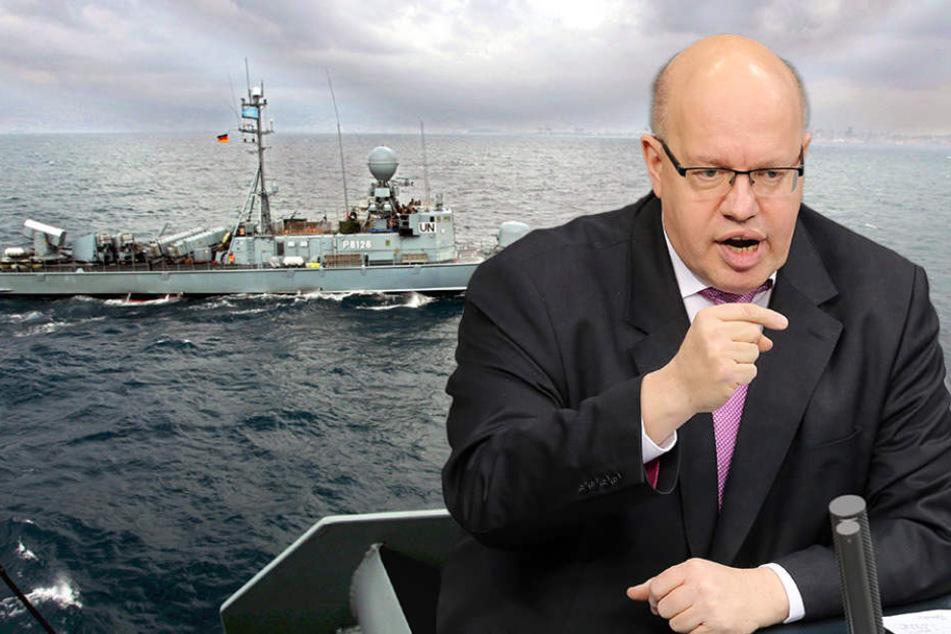 Bundeswirtschaftsminister Peter Altmaier (59, CDU) verkündete den Deal.