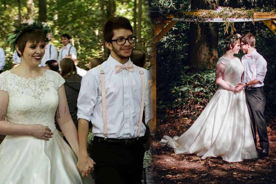 Karalyn und Justin lernten sich bereits vor vier Jahren kennen und lieben.