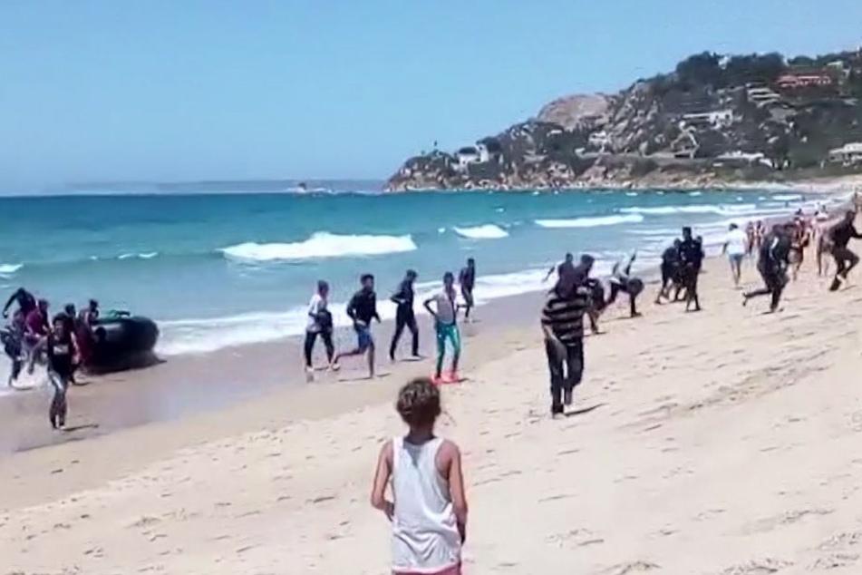 An verschiedenen Stellen des Strandes von Los Caños de Meca im Süden Spaniens sind Tote angespült worden (Symbolbild).
