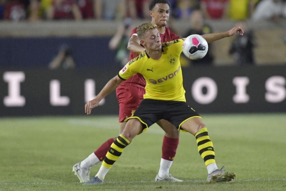 Thorgan Hazard im Testspiel gegen Champions League Sieger FC Liverpool (Endstand 3:2 für den BVB)