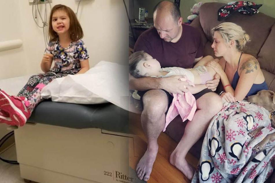 Zoey Catherine Daggett (5) starb zwei Jahre nach der Krebs-Diagnose.