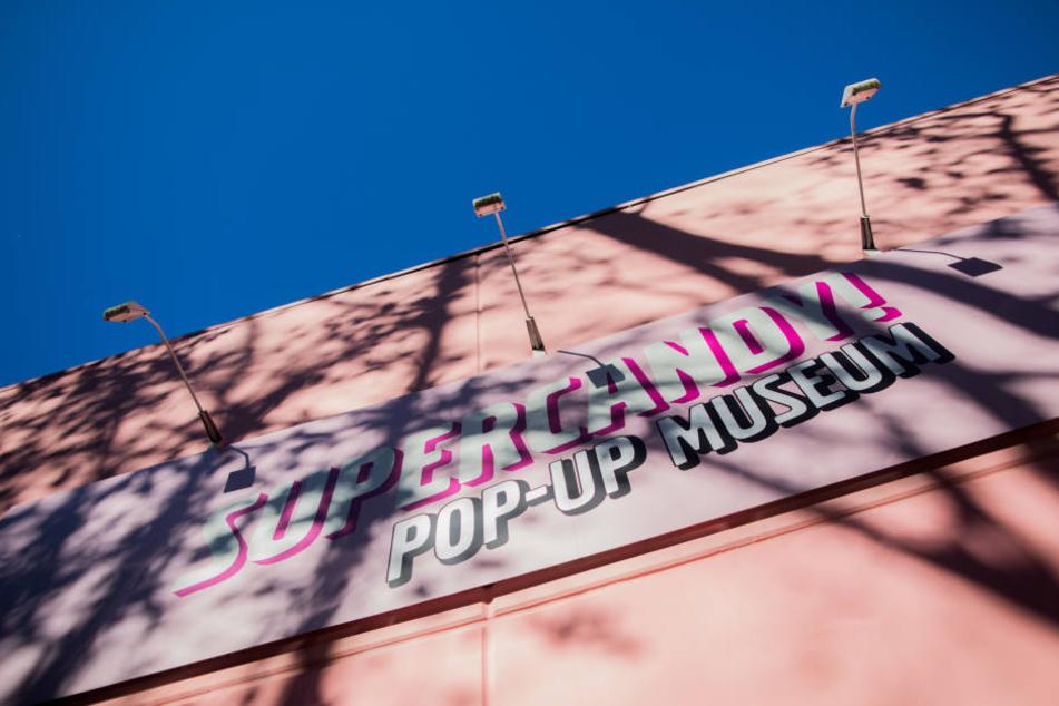 Und so sieht das Pop-Up-Museum bis Ende des Jahres aus. Danach wird das Haus abgerissen.