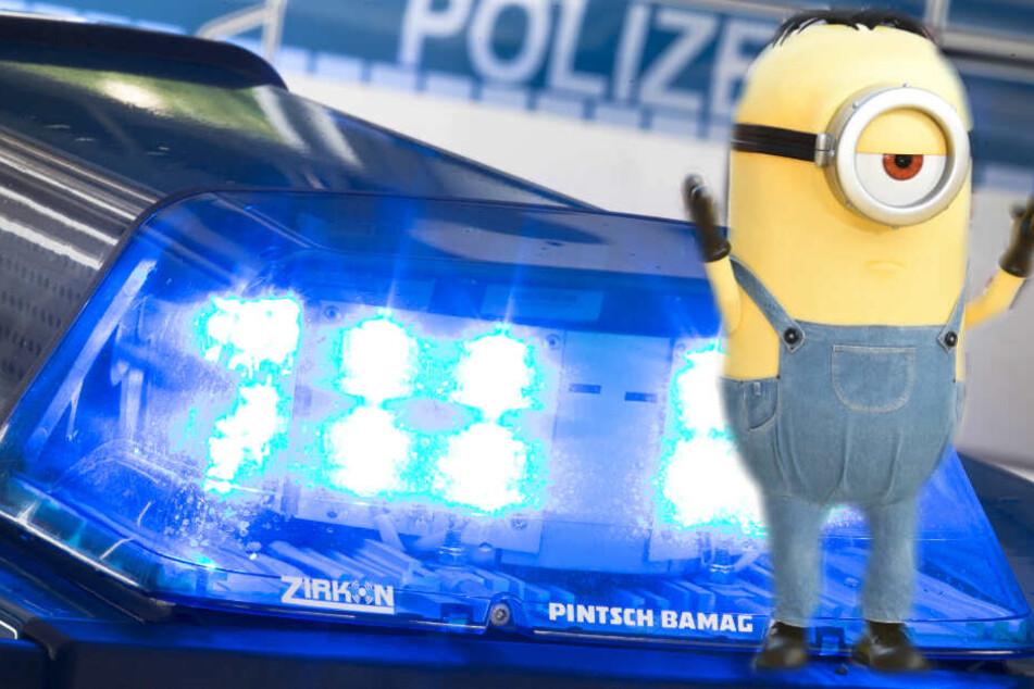 Die Polizei ist auf der Suche nach einem Minion.