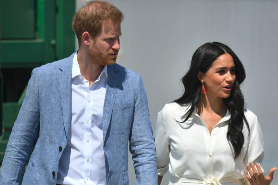 Herzogin Meghan und der Prinz Harry verbringen die nächsten sechs Wochen in Kanada.