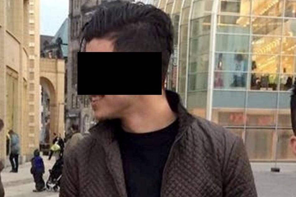 Alaa S. (23) sitzt in Untersuchungshaft.