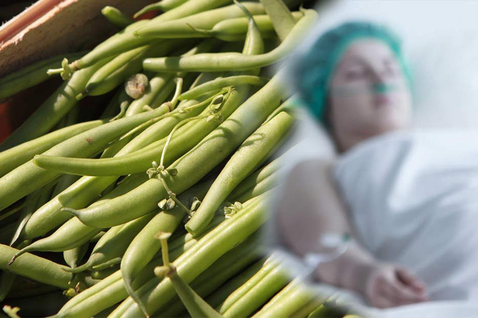 Die falsch eingelegten grünen Bohnen brachten das Ehepaar monatelang ins Krankenhaus. (Symbolbild)