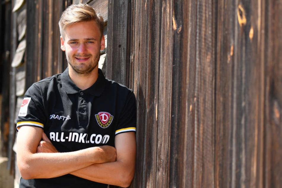 Lucas Röser kam als Stürmer zu Dynamo und spielt nun auf der Außenbahn.