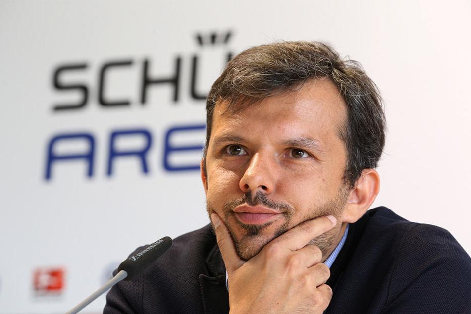 Auf der Suche nach einem neuen Trainer: Geschäftsführer Samir Arabi.