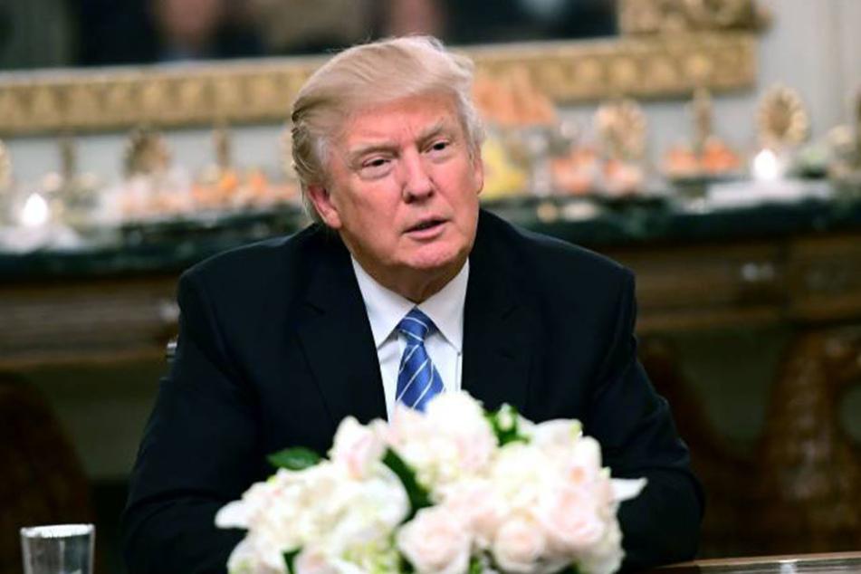 """Donald Trump nimmt die """"Mexico City policy"""" wieder auf, die Förderung von Familienplanung im Ausland unterbindet."""