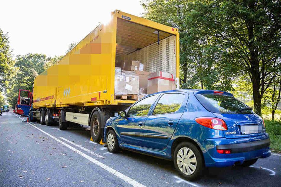 Ein Peugeot war ebenfalls an dem Unfall beteiligt.