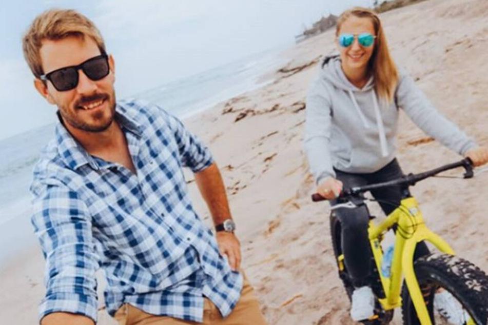 Anna und Gerald genießen ihr gemeinsames Leben in Namibia.