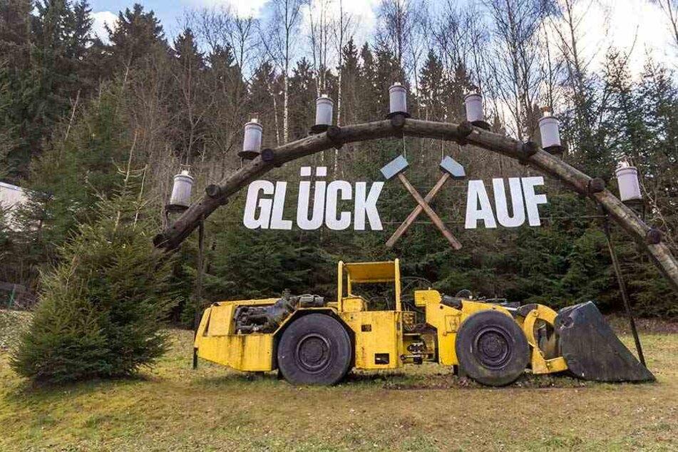 """Bald heißt es wieder """"Glück auf!"""" im Erzgebirge."""