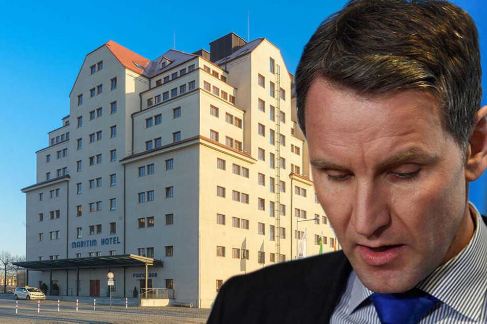 Wegen Skandal Rede! Maritim Hotel erteilt Höcke Hausverbot