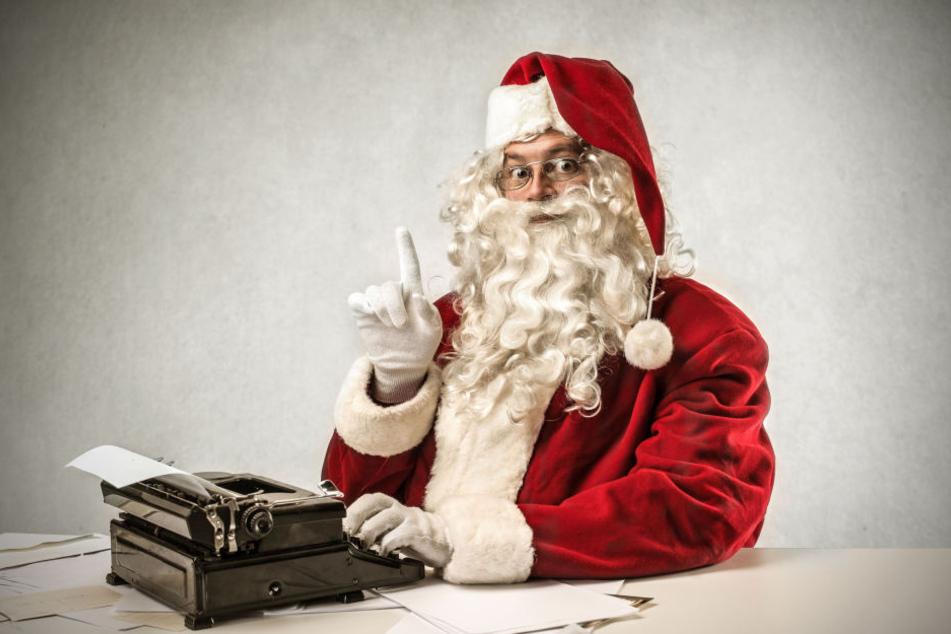 Der Weihnachtsmann steht in den Startlöchern. Wunschzettel nimmt er jetzt schon entgegen.