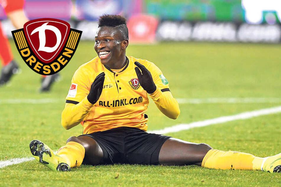 Letztes Tor vor 107 Tagen: Dynamos Koné hat Ladehemmung