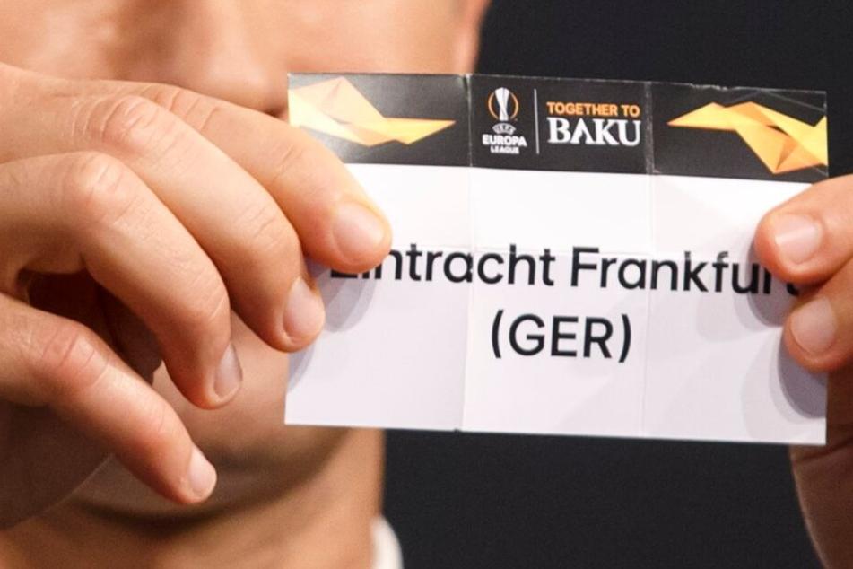 Eintracht Frankfurt zog gegen Schachtar Donzek ins Achtelfinale des Wettbewerbs ein.