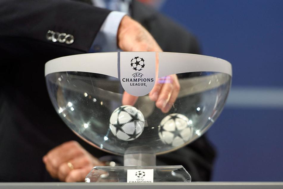 Die Auslosung der Champions League im schweizerischen Nyon ist fertig! Die drei deutschen Teams treffen auf drei englische Mannschaften!