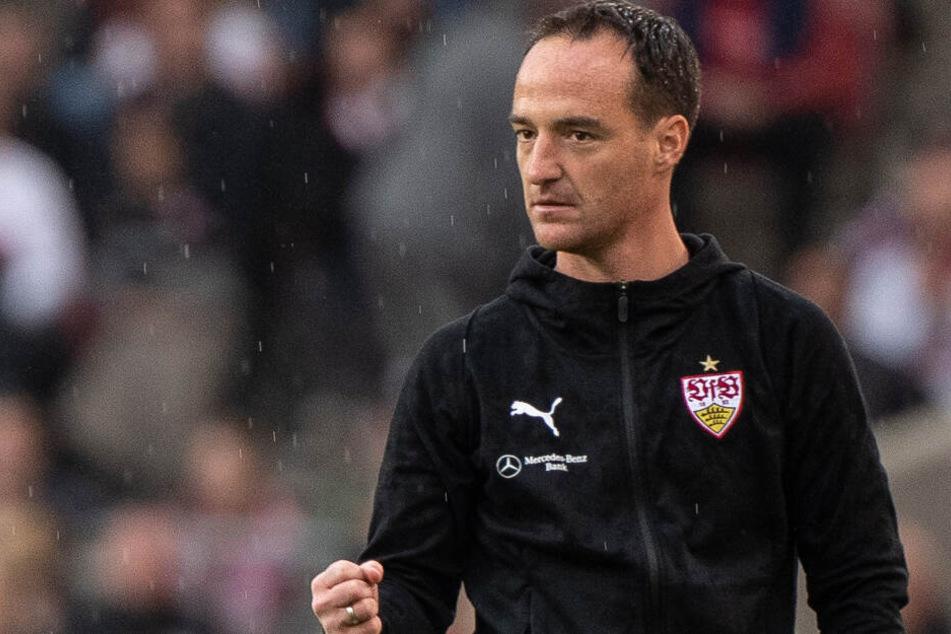 VfB Stuttgart-Interimstrainer Nico Willig geht entschlossen in das Hinspiel der Relegation gegen den 1. FC Union Berlin. (Archivbild)