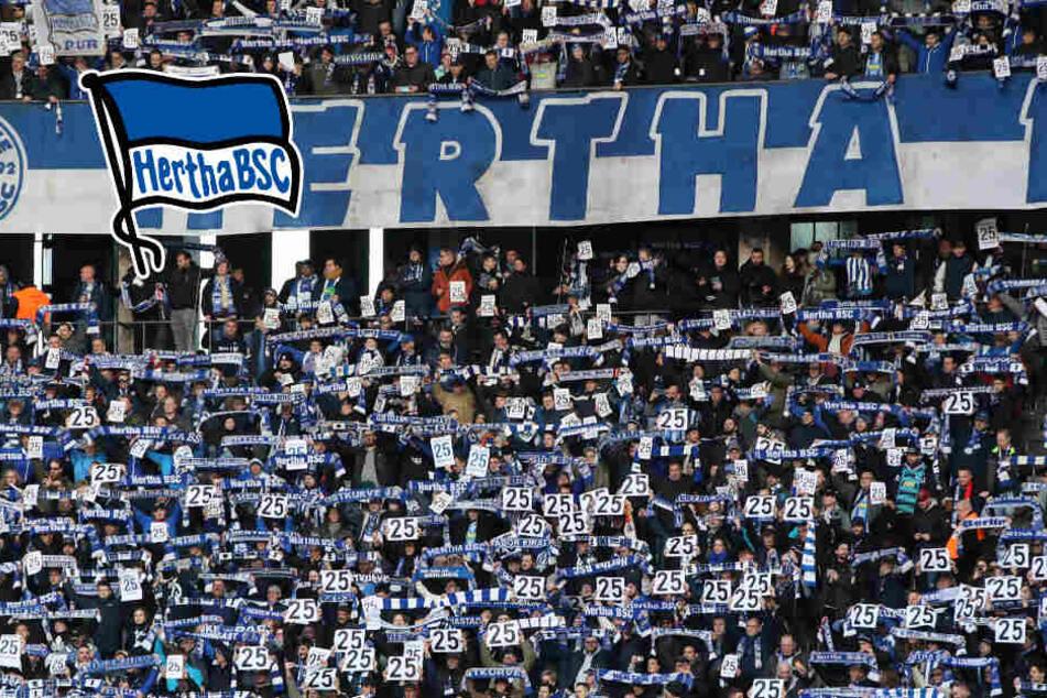 Fan-Choreo für Torunarigha: Hertha-Fans setzten Zeichen gegen Rassismus