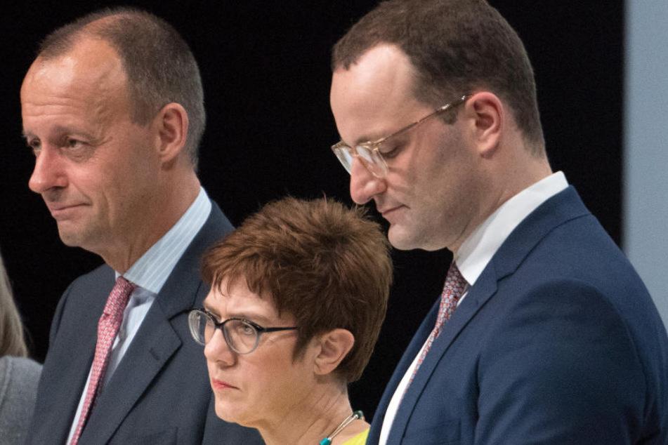 Am 7. Dezember wird der CDU-Bundesvorsitz gewählt. Merz, Kramp-Karrenbauer und Spahn gelten als aussichtsreichste Kandidaten.