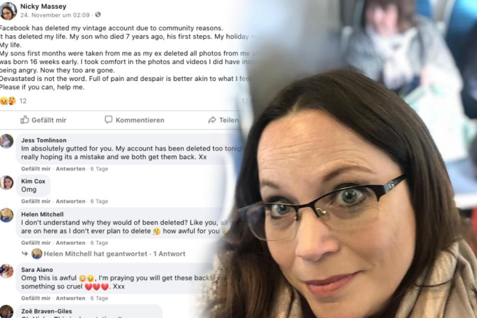 Mutter will Facebook-Seite ihres toten Sohnes pflegen, dann fällt sie aus allen Wolken