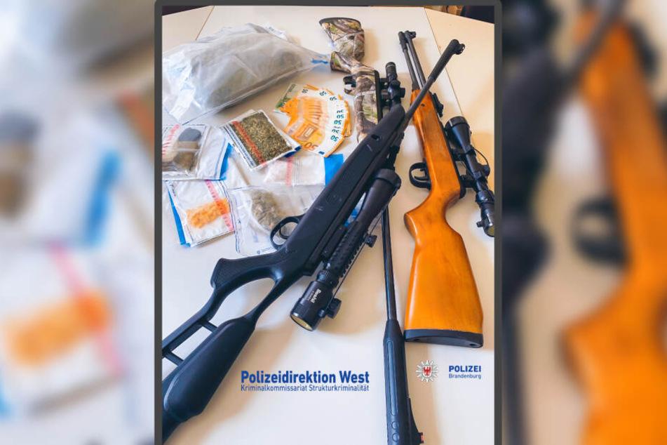 Erfolgreiche Razzia: Die Brandenburger Polizei kommt der organisierten Kriminalität auf die Spur.
