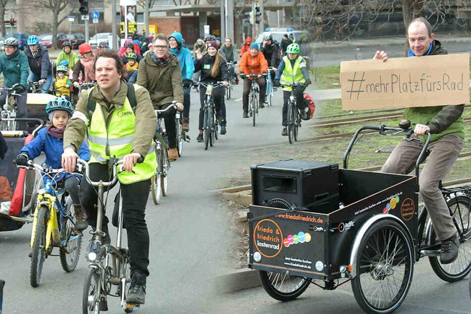 Dresden: Demo für sichere Radwege in Dresden!