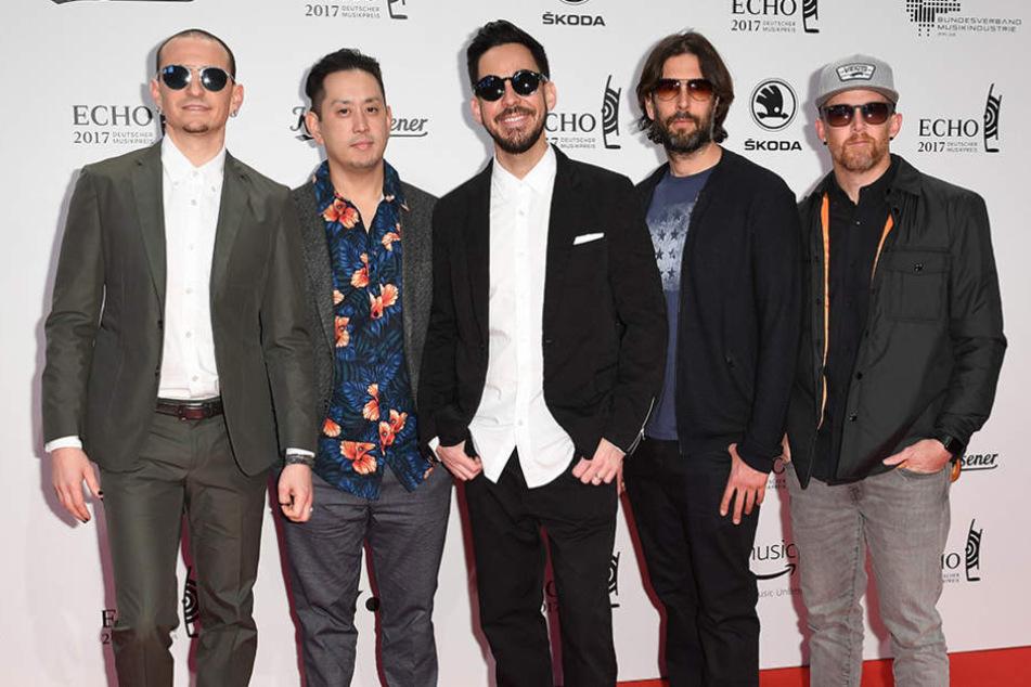Die Zukunft der Band ist ohne Leadsänger Chester (l.) ungewiss.