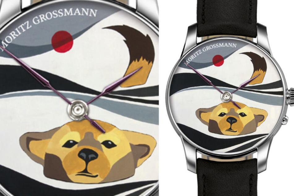 Im Zeichen des Hundes gestaltete Tim Miura die Uhr. Erst 2030 ist der Vierbeiner wieder Tier des Jahres.