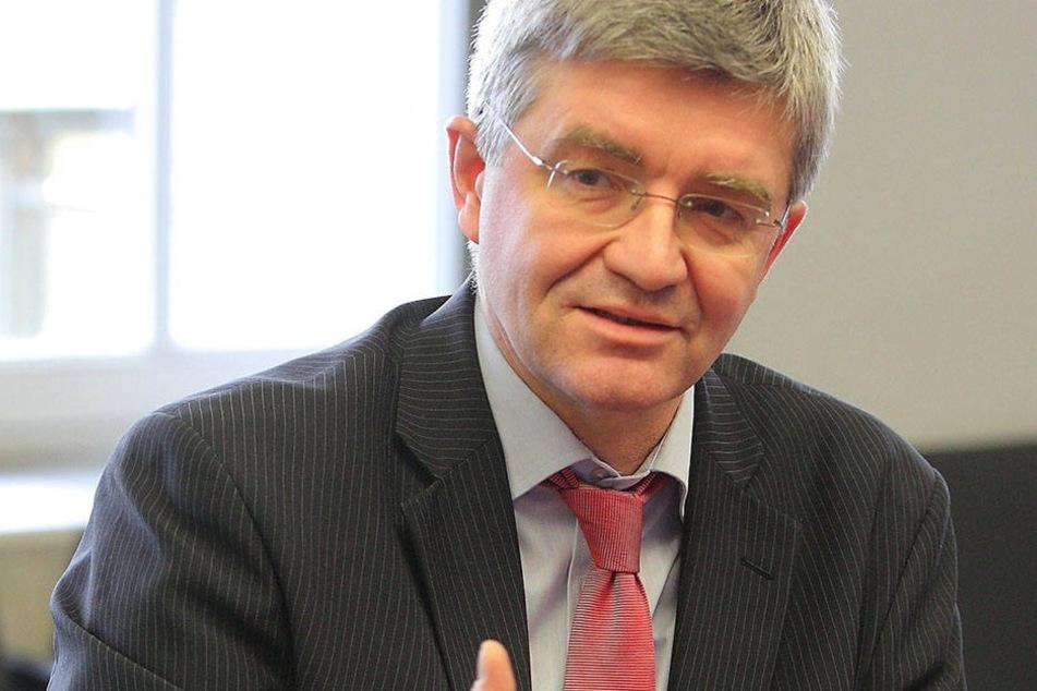 SPD-Chef Christian Avenarius (57) ist für den Denkmalschutz.