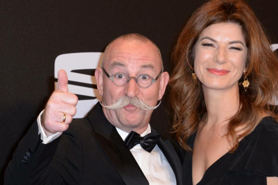 Horst Lichter und seine Ehefrau Nada.