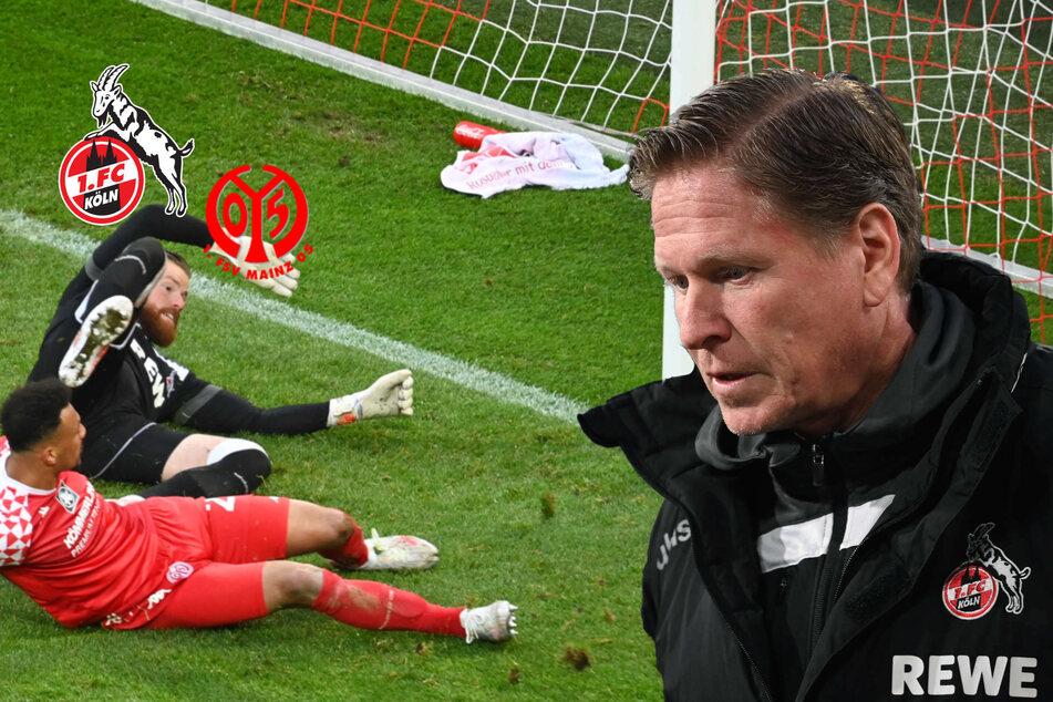 Gisdol vor dem Aus! 1. FC Köln kassiert Last-Minute-Pleite gegen Mainz