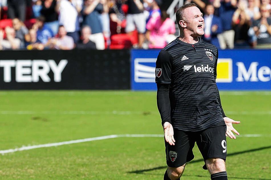 Wayne Rooney ist in den USA bei D.C. United Kapitän und Leistungsträger.