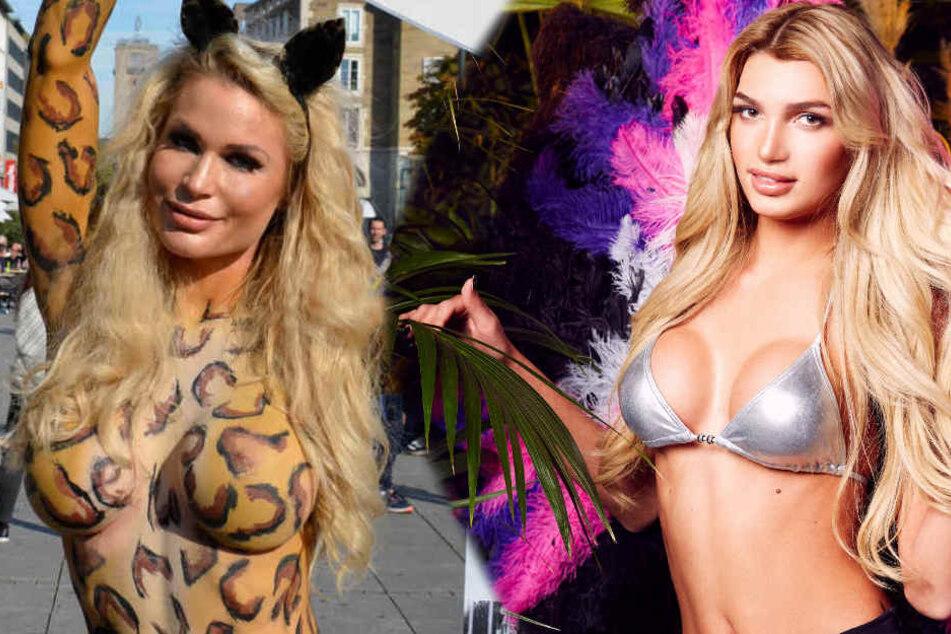 Erst hat sich Ramona Bernhard (links) hämisch über das Playboy-Cover mit Giuliana Farfalla (rechts) geäußert, jetzt hat PETA die Zusammenarbeit beendet.