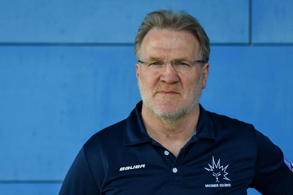Eislöwen-Coach Franz Steer.