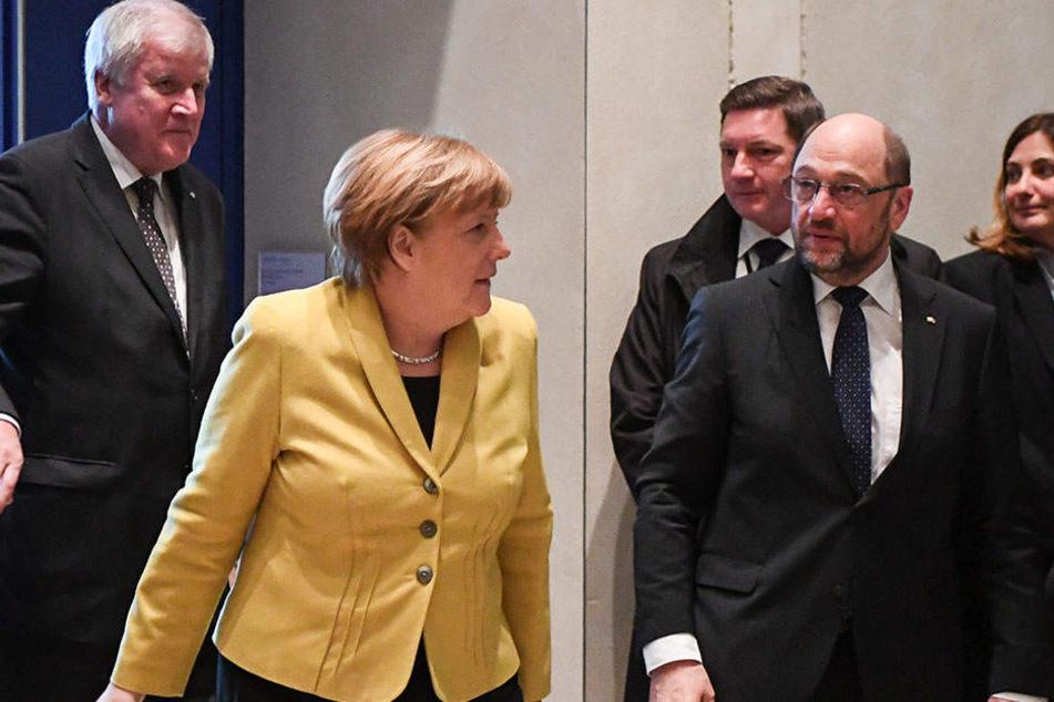 Die Spitzen von Union und SPD wollen Anfang Januar über eine Regierungsbildung sondieren.