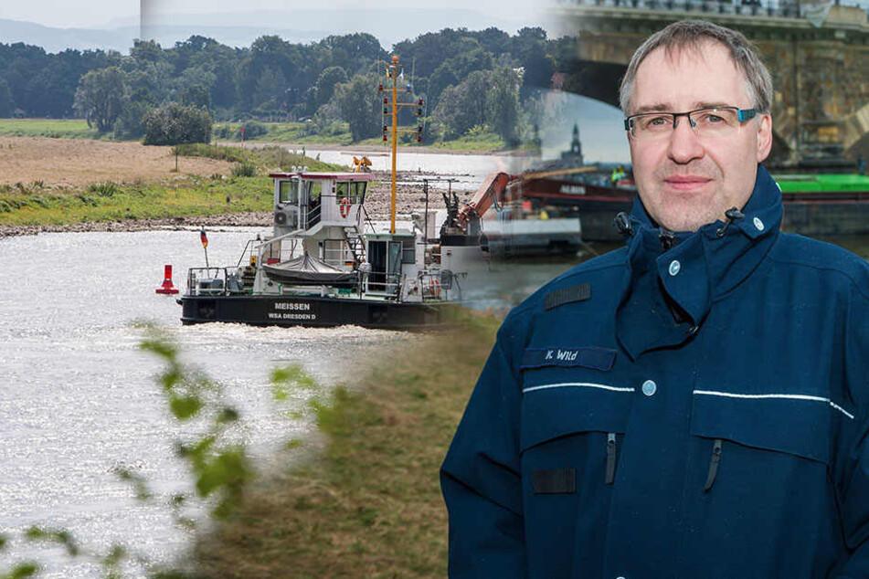 Wasser-Mangel in der Elbe! Ist die Güter-Schifffahrt noch zu retten?