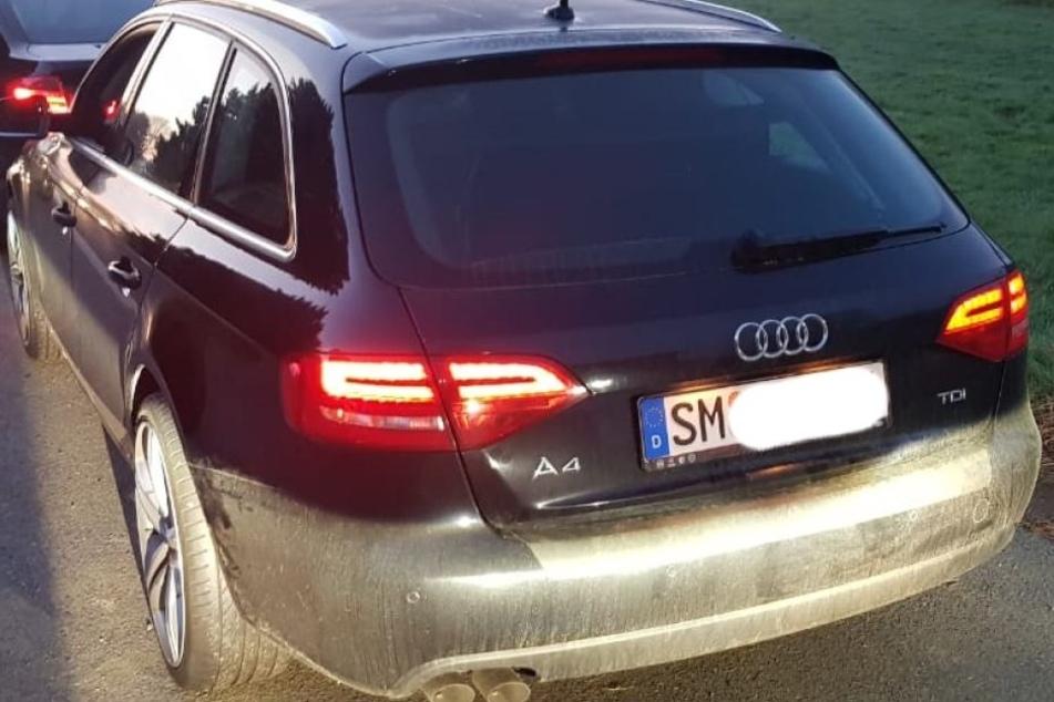 Polizei findet geklauten Audi: Fahrer festgenommen