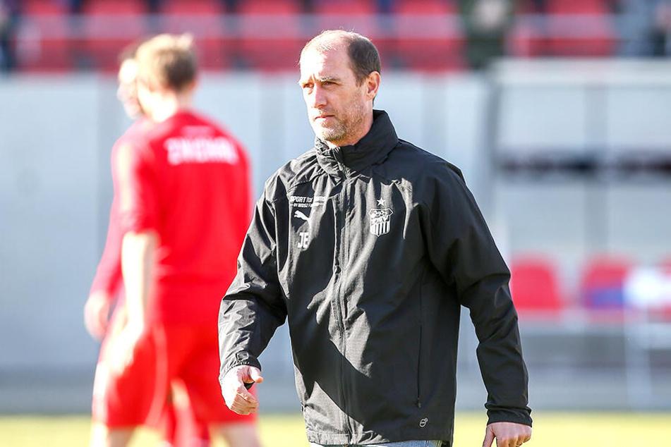 Bekam nach der Partie viele Glückwünsche: FSV-Trainer Joe Enochs.