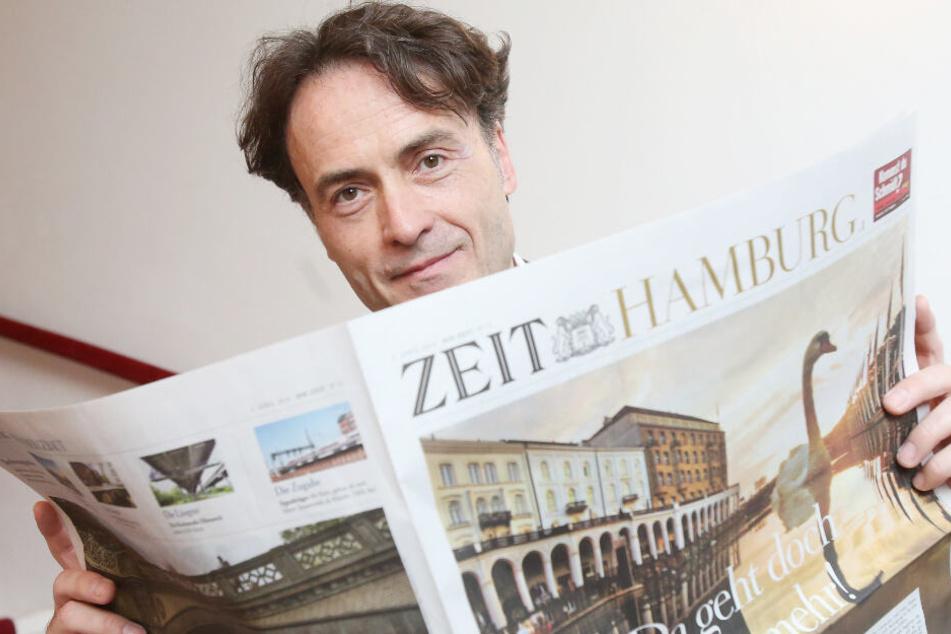 """Giovanni di Lorenzo hat als Chefredakteur der Wochenzeitung """"Die Zeit"""" einen Hamburg-Teil eingeführt."""