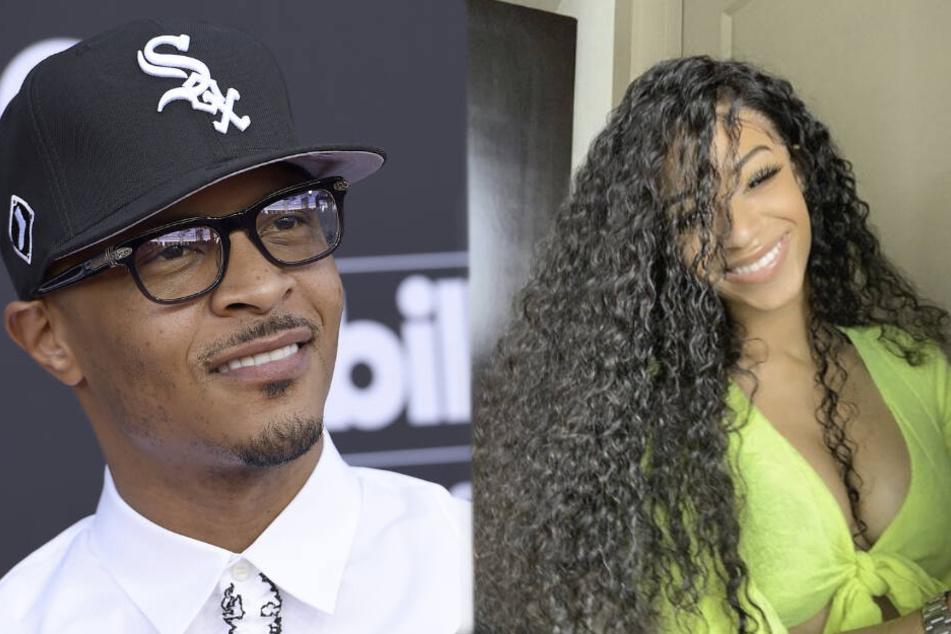 """Rapper """"T.I."""" (39) und seine Tochter Deyjah."""