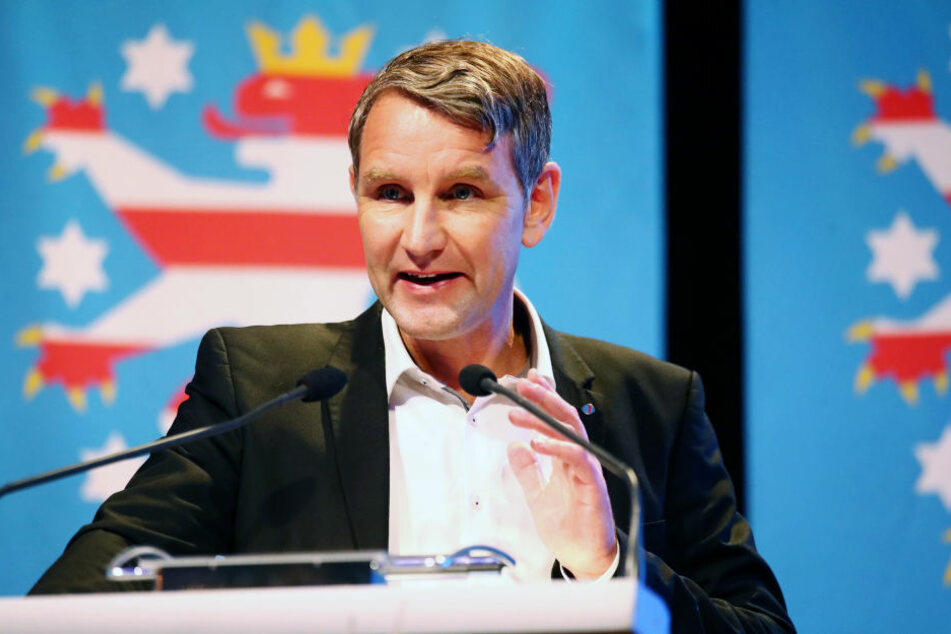 Björn Höcke auf dem Parteitag der AfD in Thüringen im November.